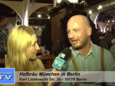 WEB CHANNEL TV Entertainment – Hofbräuhaus München Biergarten Berlin Las Vegas