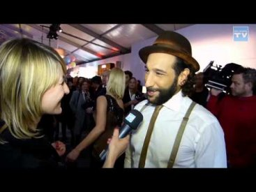 WEB CHANNEL TV im Interview mit Massimo Sinató auf der Fashion Week 2015 in Berlin
